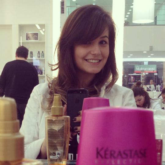 Amei a escova de brilho da Kérastase! Foto: Reprodução/Instagram