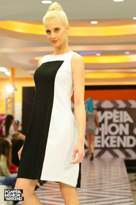 O preto e branco também marcou presença nos desfiles do Pompéia Fashion Weekend - Foto: Divulgação/Site Oficial