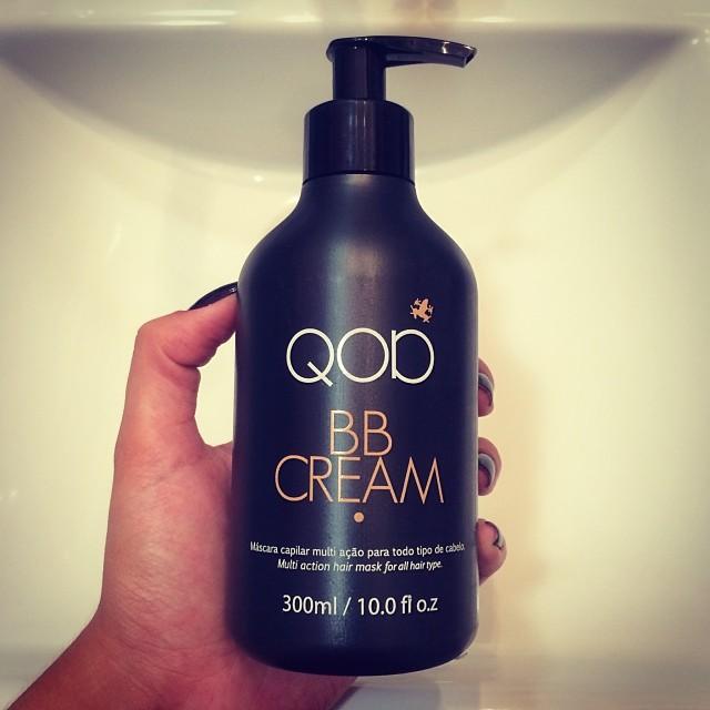 Para os cabelos: BB Cream da QOD - Foto: Reprodução/Instagram