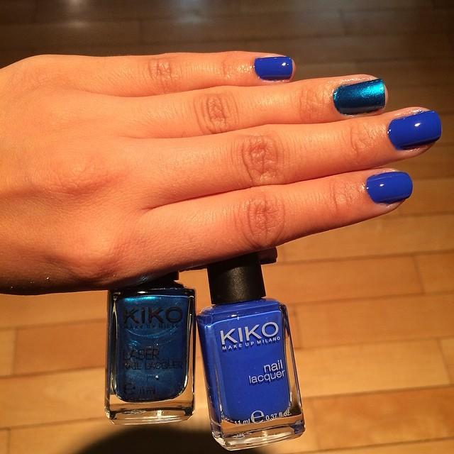 Eu escolhi um esmalte da Kiko, com a cor bem parecida com a da Giovanna Antonelli - Foto: Juju Massena