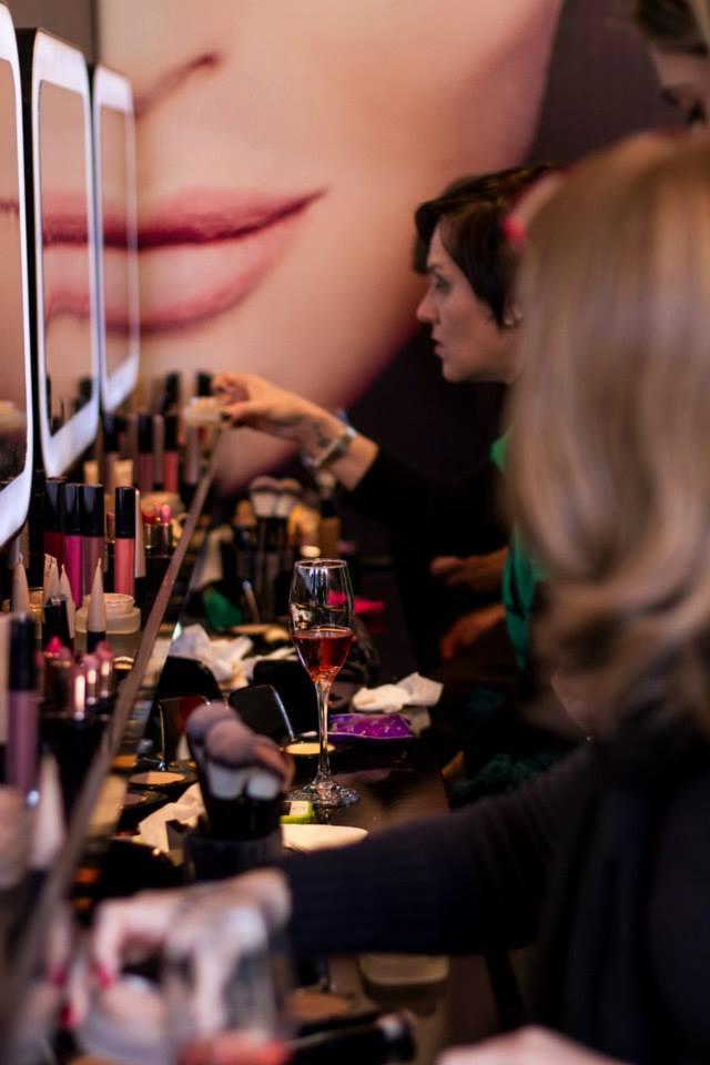 A Natura preparou um verdadeiro camarim para maquiagem! - Foto: Divulgação