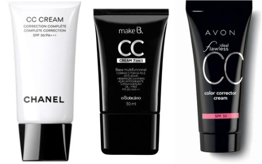 O CC Cream da Chanel ganhou fama. Aqui no Brasil, O Boticário e Avon já apresentaram suas versões do produto - Foto: Divulgação