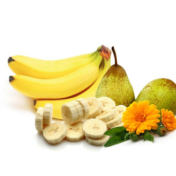 """Ingredientes do chá gelado """"Bom Banana"""" - Foto: Divulgação"""