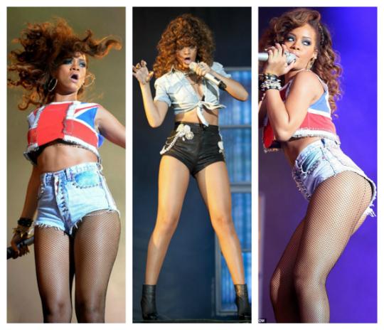 Hot Pants Rihanna - Foto: Divulgação
