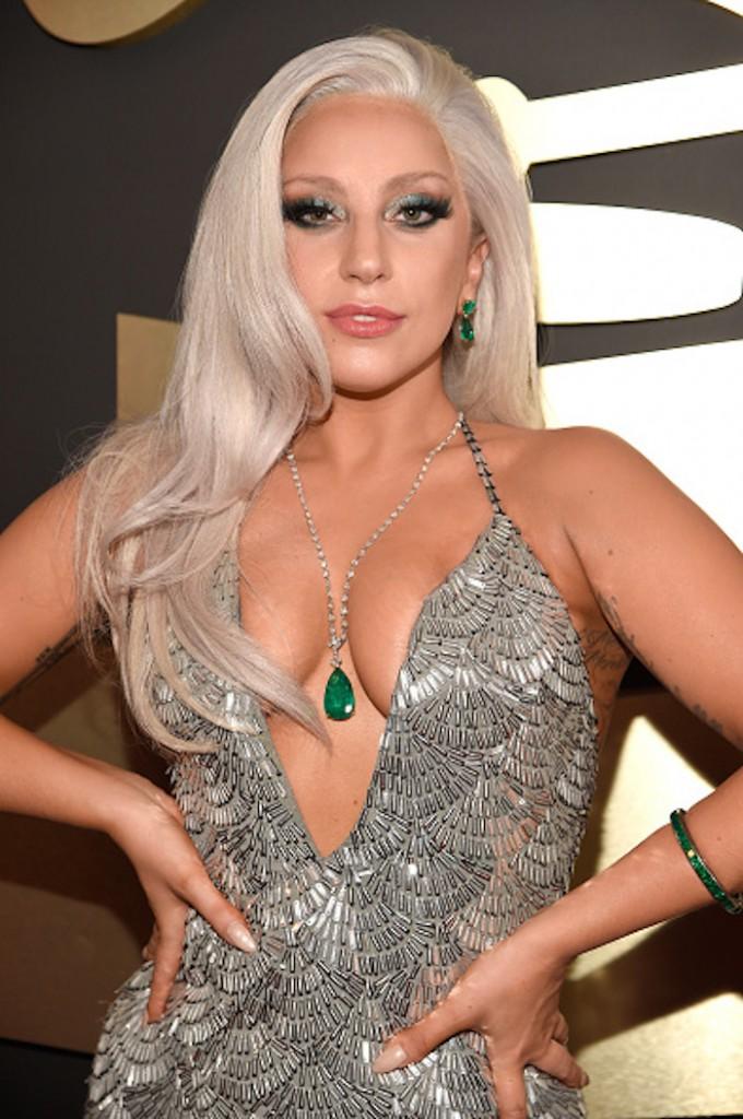 Lady Gaga no Grammy 2015 - Foto: Divulgação