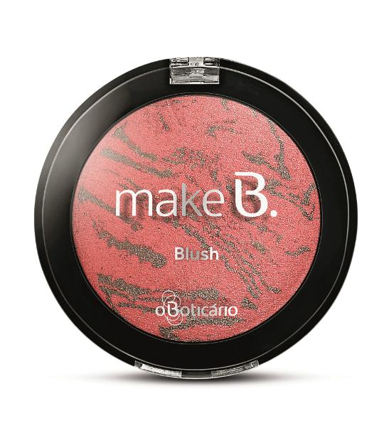 Blush Sublime Rose da nova coleção da Make B. - Foto: Divulgação