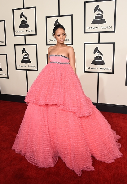 Rihanna no Grammy Awards 2015 - Foto: Divulgação