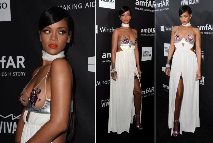 Rihanna baile de gala da amfAR - Foto: Divulgação