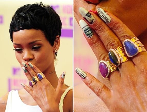 Rihanna unhas - Foto: Divulgação