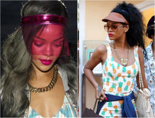 viseira Rihanna - Foto: Divulgação