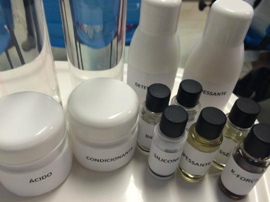 Produtos utilizados na fabricação do meu shampoo - Foto: Juju Massena