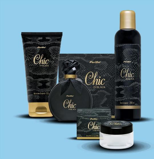 """Nova linha da Panvel, """"Chic In Black"""" - Foto: Divulgação"""