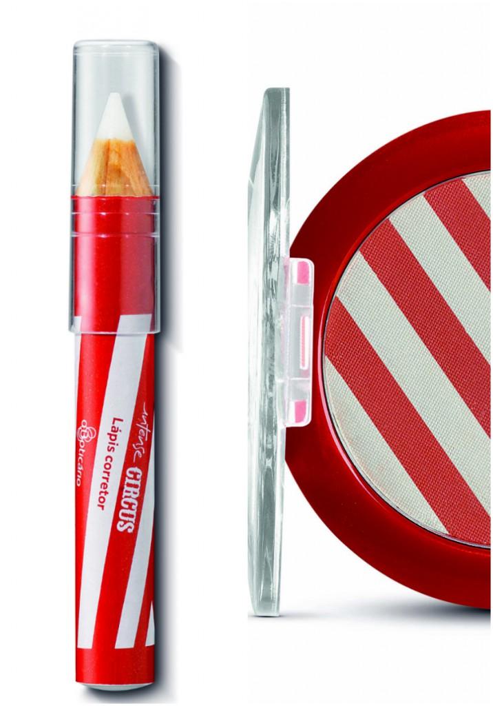 Lápis corretor e Duo blush - Foto: Divulgação/Moglia Comunicação
