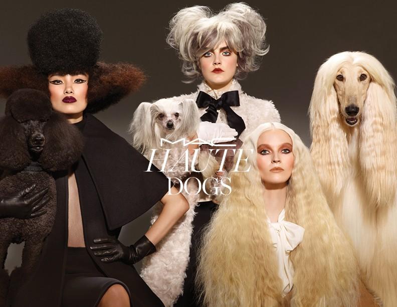 """""""Haute Dogs"""", nova coleção da MAC, é inspirada em cachorros - Foto: Divulgação"""