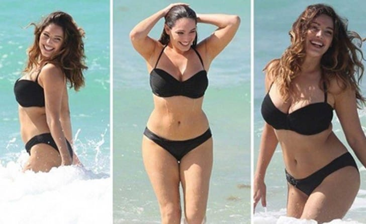 Kelly Brooks foi considerada a mulher com o corpo mais perfeito do mundo - Foto: Divulgação