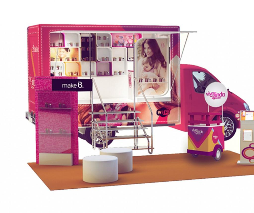O Boticário Viva Linda Beauty Truck