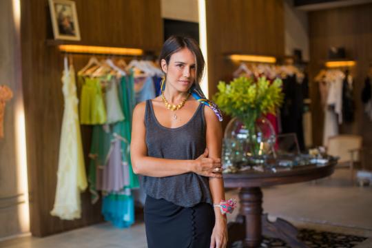 Juliana Pereira abre seu atelier para um bate papo sobre moda - Foto   Divulgação  4d229e12fc