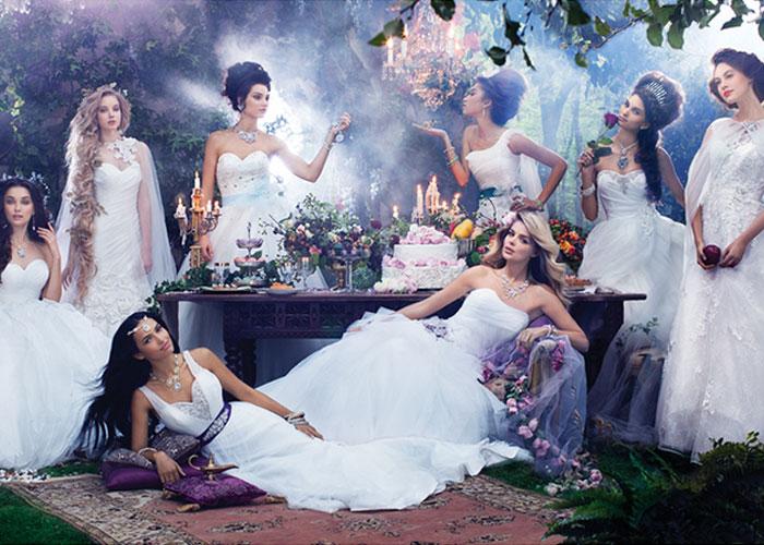 Vestidos de noiva Disney