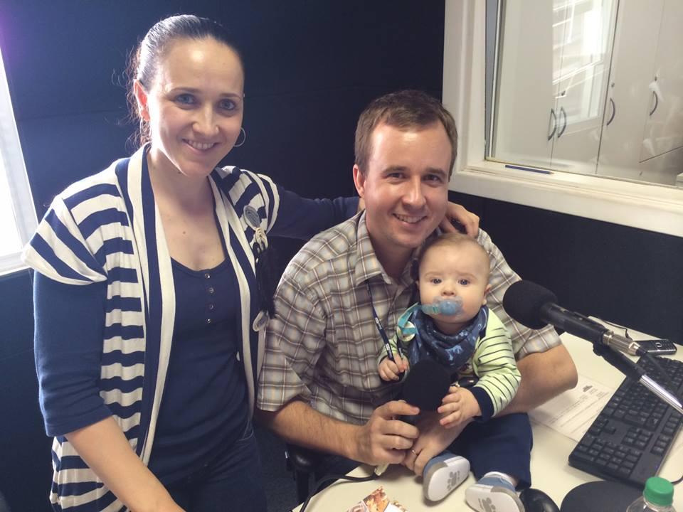 Milena e o marido Leandro Staudt: a alergia do Pedro mudou a alimentação da mãe