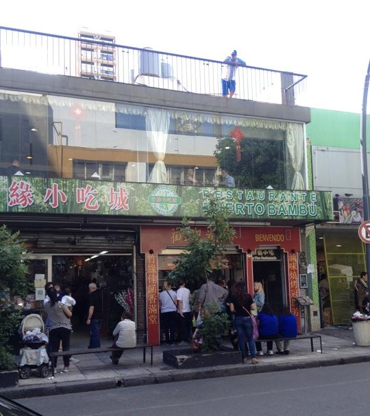 Supermercado no Barrio Chino