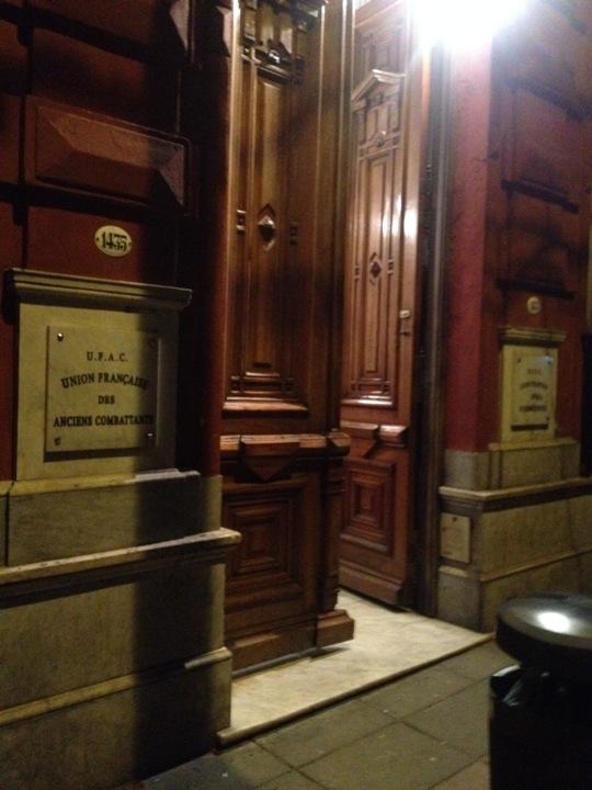 Entrada do Les Ancients