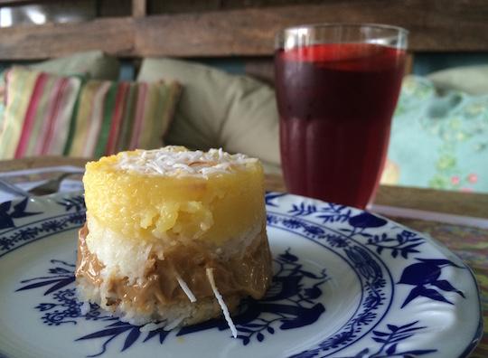 Na Leckerhaus, além do café, tem chá gelado e doces incríveis