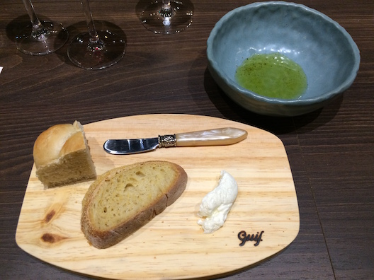 O pão, uma das especialidades de Marcelo Schambeck