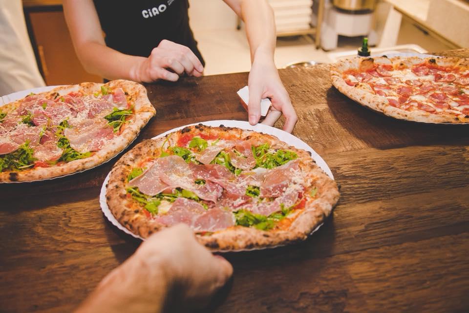 ciao pizzaria napoletana tem cook show com Gabriel Rossi