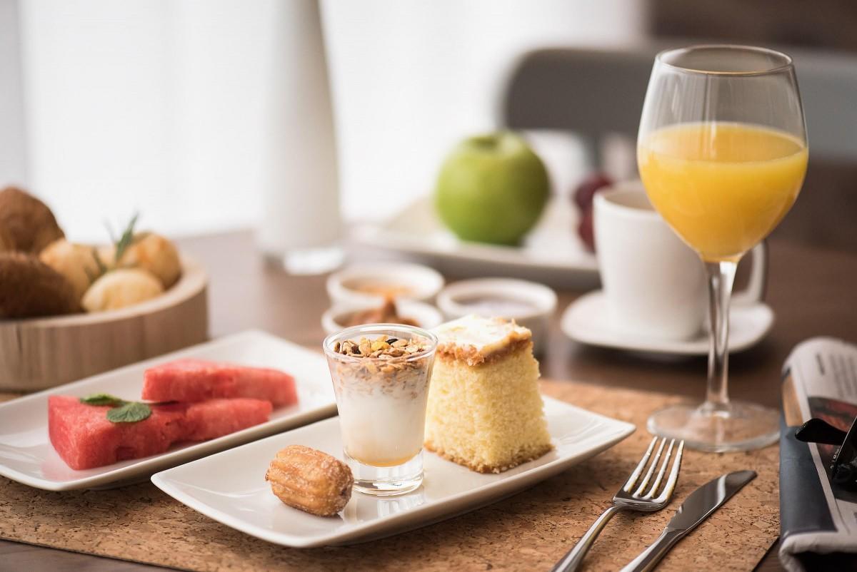 almoço e brunch no intercity hoteis