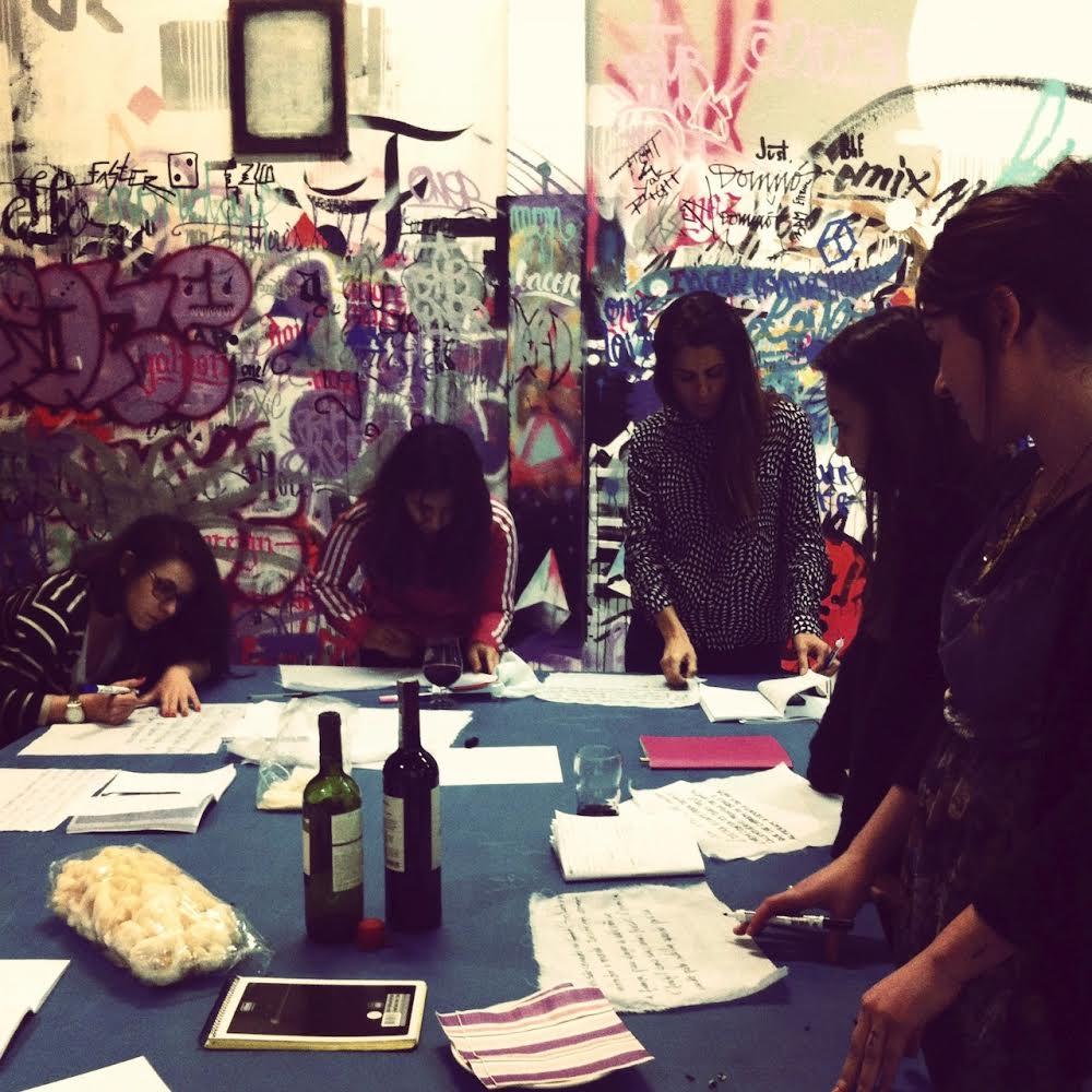 Curso Go, Writers com a jornalista Cris Lisboa