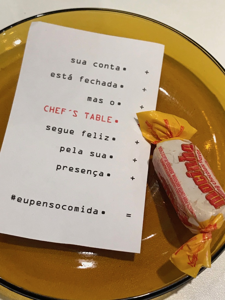 Chef's Table 2018