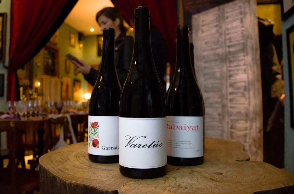 Degustacao de vinhos no Atelier das Massas