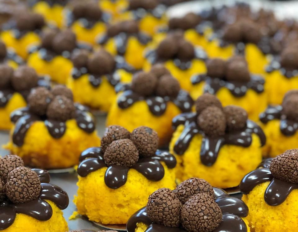 Cook show de bolos com Dona Maricota