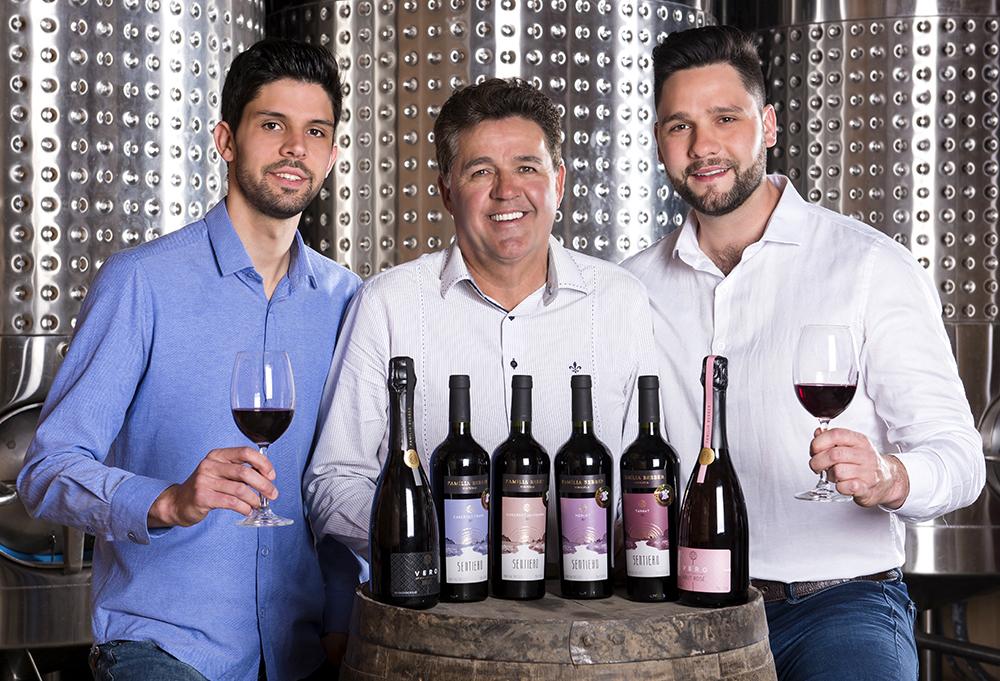 Familia Bebber promove harmonizacao de vinhos