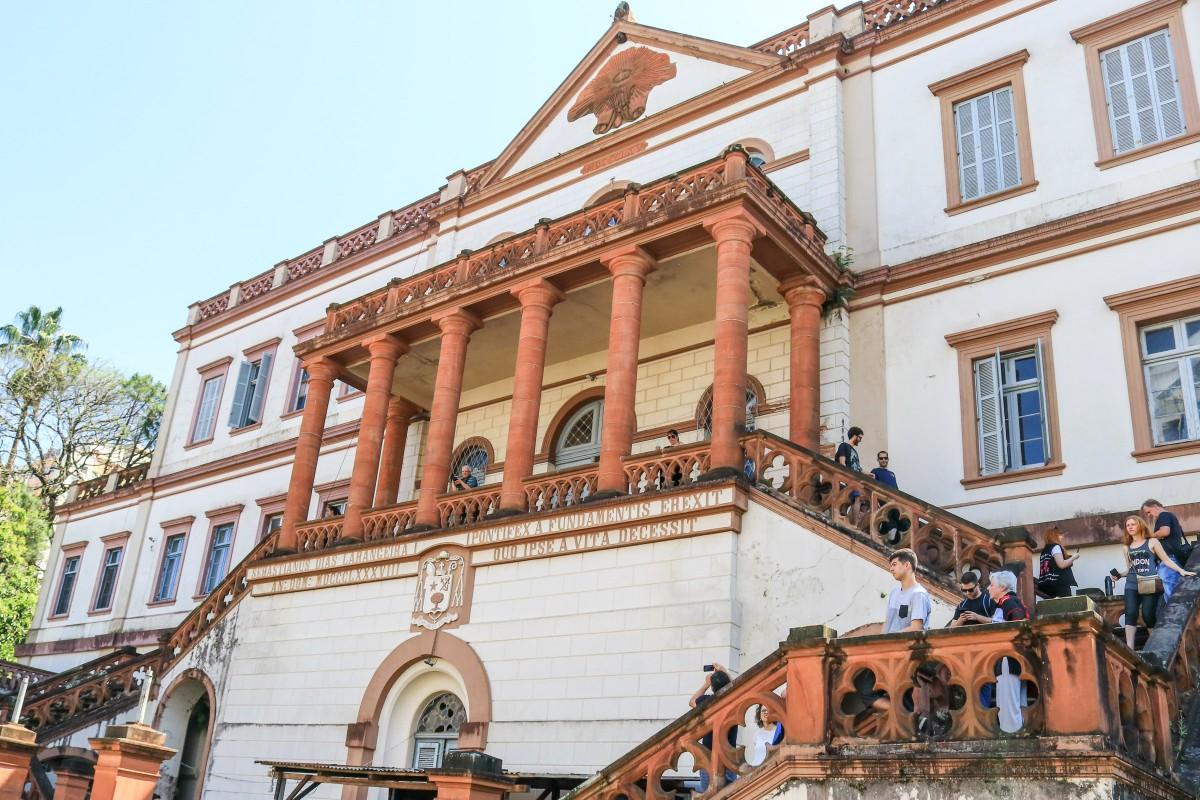 Curia no passeio Porto Alegre a Pe