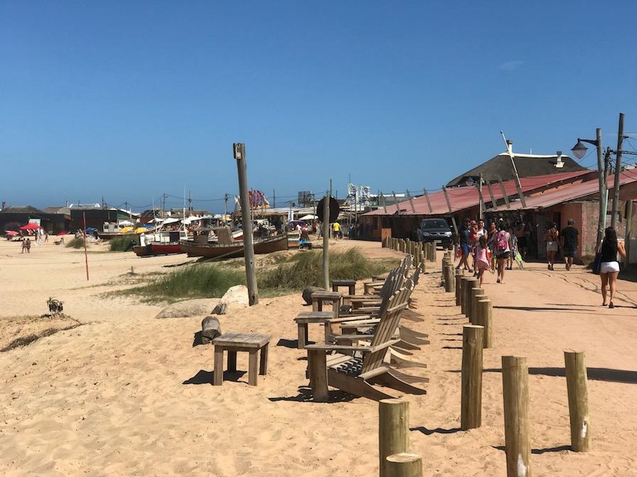 barcos na areia