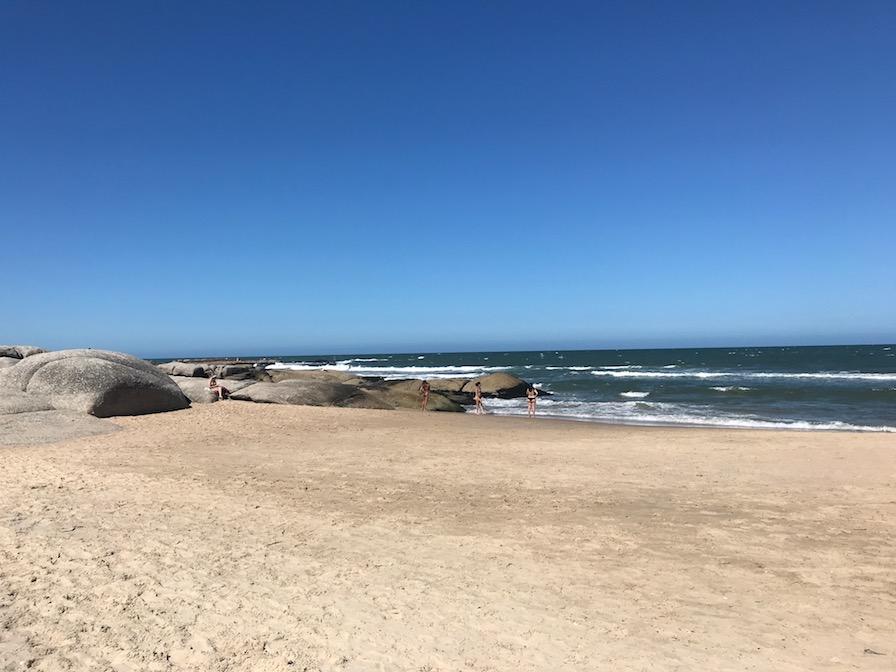 beira da praia